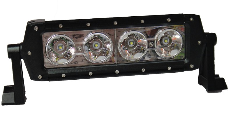 פנס זרקור מלבן 4CREE POWER LEDS ‏‏10-30V 40W - תמונה
